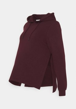 Anna Field MAMA - NURSING HOODIE WITH SLIT - Huppari - red