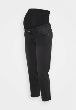 Forever Fit - STRAIGHT LEG CROP - Jeans Straight Leg - black