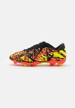 adidas Performance - NEMEZIZ MESSI .3 FG UNISEX - Moulded stud football boots - solar red/solar yellow/core black