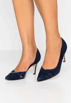 Anna Field Wide Fit - LEATHER CLASSIC HEELS - Escarpins - dark blue