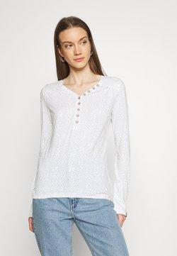 Ragwear - PINCH STARS - Pitkähihainen paita - white
