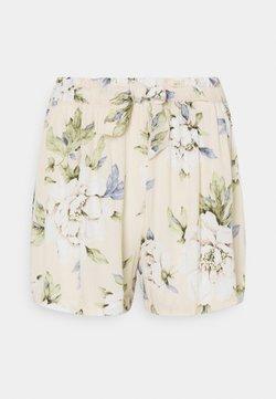Vila - VIMESA TIE - Shorts - sandshell