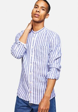 Colours & Sons - Hemd - blau/ weiß