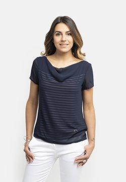NeroGiardini - T-shirt con stampa - blu