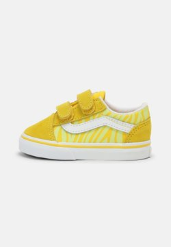 Vans - OLD SKOOL UNISEX - Sneaker low - zebra/yellow