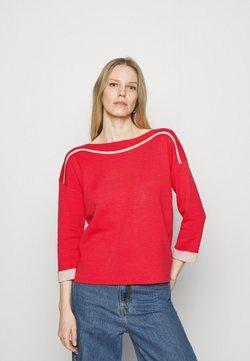 comma - Strickpullover - red