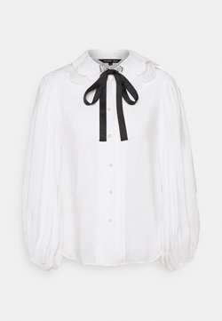 Sister Jane - GRAND STAND BOW SHIRT - Camicetta - ivory