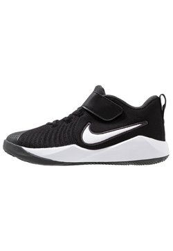 Nike Performance - TEAM HUSTLE QUICK 2 - Zapatillas de baloncesto - black/white/anthracite/volt