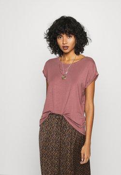 Vero Moda - VMAVA PLAIN - Camiseta básica - rose brown