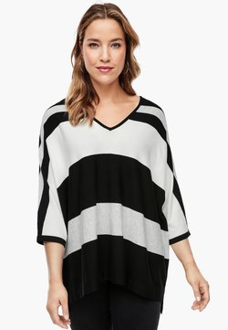 Triangle - Strickpullover - black stripes