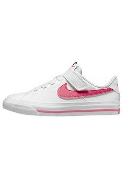 Nike Sportswear - COURT LEGACY  - Sneaker low - white/hyper pink