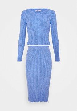WAL G. - KYLIE LOUNGE SET - Strickpullover - cornflour blue