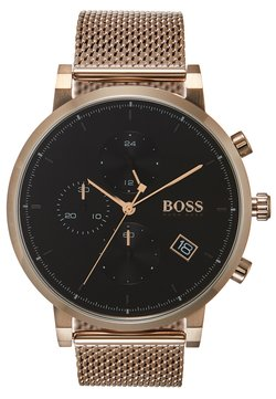 BOSS - INTEGRITY - Montre à aiguilles - rose gold-coloured