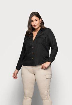 Vero Moda Curve - VMBUMPY  - Bluse - black