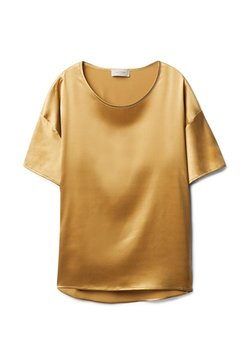 Falconeri - T-Shirt basic - gelb - 8569 - duna