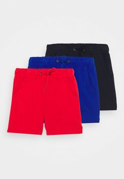Blue Seven - SMALL BOYS 3 PACK - Shorts - blue/red