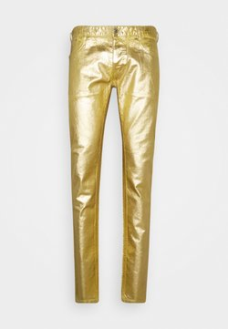 Just Cavalli - PANTS POCKETS - Kangashousut - gold