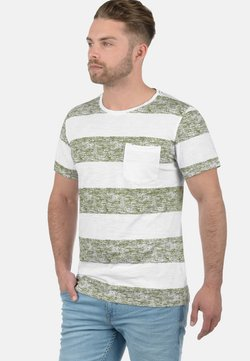 Blend - VEGAS - T-Shirt print - green olive