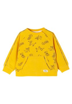 s.Oliver - Sweater - yellow aop