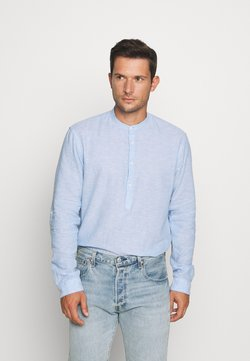 TOM TAILOR DENIM - MIX TUNIC - Camicia - light blue