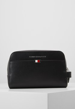Tommy Hilfiger - BUSINESS WASHBAG - Kosmetiktasche - black