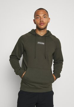 Jack & Jones - JCOTULIP HOOD - Huppari - forest night