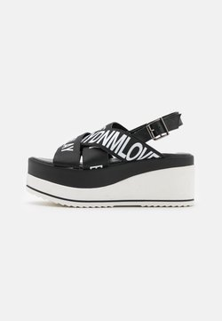 Replay - SHELYE - Korkeakorkoiset sandaalit - black