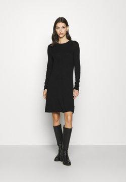 ONLY - ONLSELINA DRESS - Vestido de punto - black