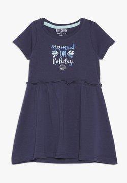 Blue Seven - Jerseykleid - dunkelk blau