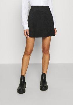 ONLY - ONLSARAH NEOLINE SKIRT  - Mini skirt - black