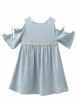Dadati - Freizeitkleid - blue grey
