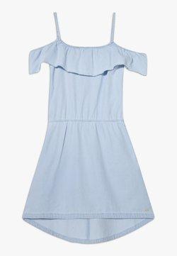 Esprit - DRESS - Freizeitkleid - light indigo denim