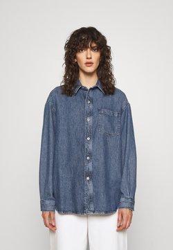 rag & bone - OVERSIZED SHIRT - Camisa - blue denim