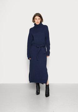IVY & OAK - KAMELA ROSE - Stickad klänning - winter true blue