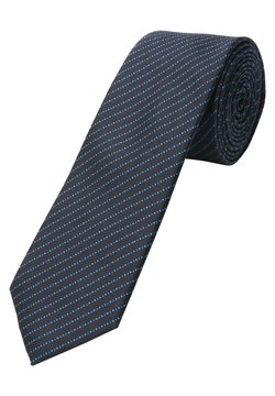 s.Oliver BLACK LABEL - Fliege - dark blue jacquard
