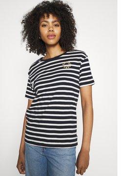 Scotch & Soda - STRIPED TEE - T-Shirt print - combo