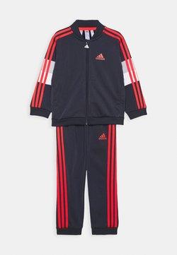 adidas Performance - FAVOURITES TRAINING SPORTS TRACKSUIT BABY SET - Dres - dark blue/red