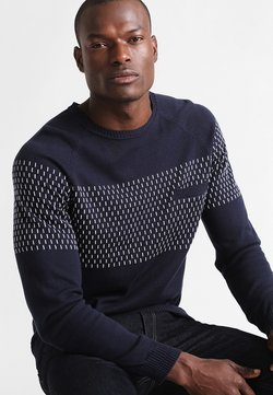Pier One - Strickpullover - dark blue