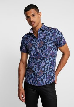 Burton Menswear London - FLORAL - Shirt - black