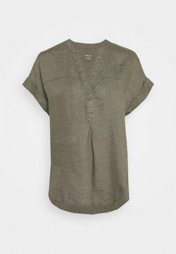 Marks & Spencer London - BLOUSE - T-shirt z nadrukiem - khaki