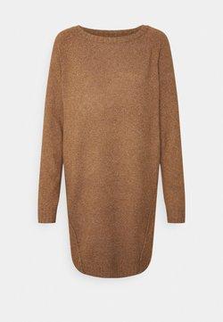 Noisy May - NMIAN BOATNECK DRESS - Vestido de punto - partridge
