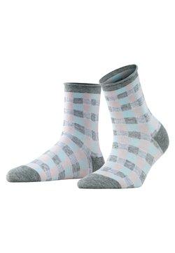 Burlington - VICHY - Socken - light grey