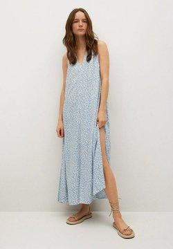 Mango - Sukienka letnia - blauw