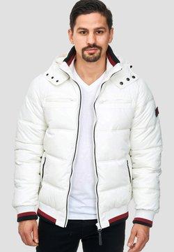 INDICODE JEANS - MARLON - Winterjacke - optical white
