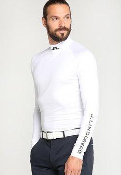 J.LINDEBERG - AELLO SOFT COMPRESSION - Langærmede T-shirts - white