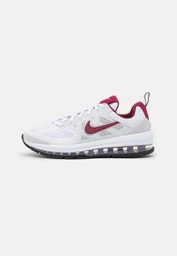 Nike Sportswear - AIR MAX GENOME UNISEX - Sneakersy niskie - white/dark beetroot/photon dust/grey/fog