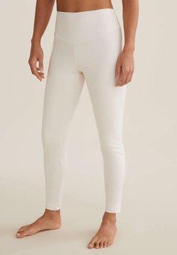 OYSHO - COMFORTLUX  - Tights - white
