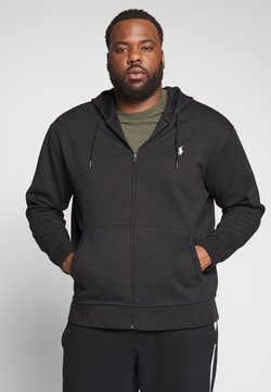 Polo Ralph Lauren Big & Tall - DOUBLE TECH HOOD - Hoodie met rits - black