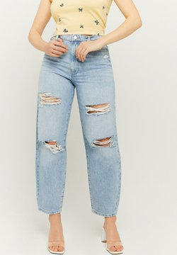 TALLY WEiJL - Jeansy Relaxed Fit - blu408