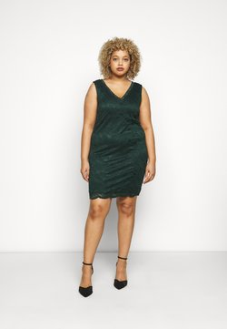Vero Moda Curve - VMJANNE DRESS - Etuikleid - pine grove